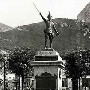 Старият паметник на Христо Ботев във Враца
