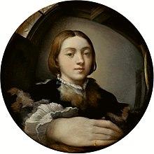 Автопортрет в изпъкнало огледало, Франческо Пармиджанино