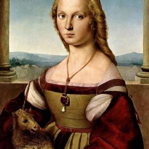 Дамата с еднорога, Рафаело Санцио