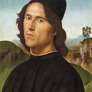 Портрет на Лоренцо ди Креди, Пиетро Перуджино