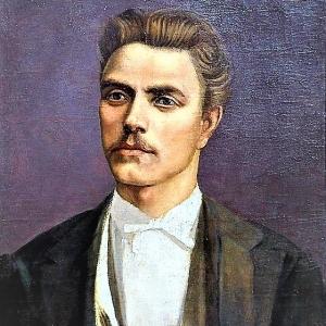 Портрет на Левски от  неговия съвременник Георги Данчов Зографина