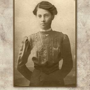 Патева  дъщеря на Стоян Патев 1905 г.