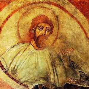 Раннохристиянски стенопис от Червената църква