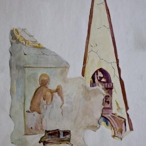 Библейски сюжет (северен вход)