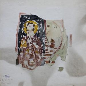 Св. Никита и св. пророк Даниил с лъвовете