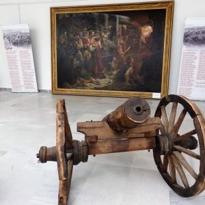 Въстаническата артилерия – черешово топче