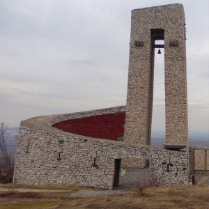 Паметникът - спирала